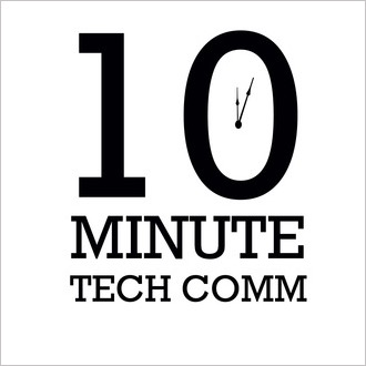 10 Minute Tech Comm podcast